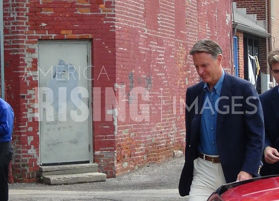 Evan Bayh At Campaign Fundraiser At Vera Mae's Bistro In Muncie, IN