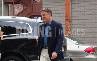 Evan Bayh At Meet And Greet At Tippecanoe Democrats Headquarters In Lafayette, IN