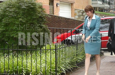 Gwen Graham At Capitol Hill Fundraiser In Washington, DC