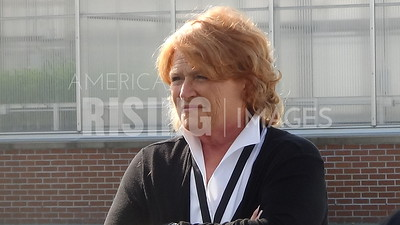Heidi Heitkamp At Soil Conservation Tour In Fargo, ND