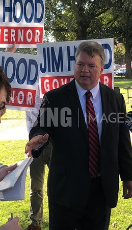 Jim Hood At Gubernatorial Announcement In Houston, MS