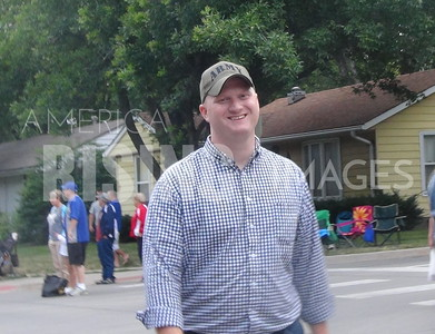Jim Mowrer At 4th Of July Parade In Des Moines IA