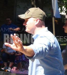 Jim Mowrer At Summer Fest Parade In Ankeny, IA