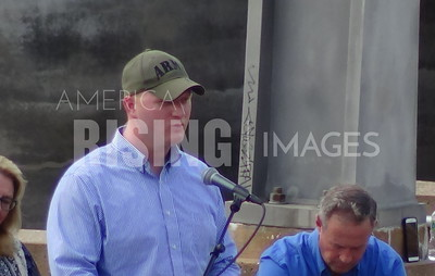 Jim Mowrer At Progress Iowa Corn Feed With Martin O'Malley In Des Moines, IA