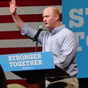 Jim Mowrer At Hillary Clinton Campaign Early Vote Event In Indianola, IA