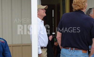 Jim Webb At Wind Farm Tour In Grand Junction, IA