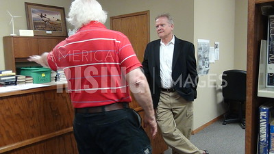 Jim Webb At Public Library In Rippey, IA