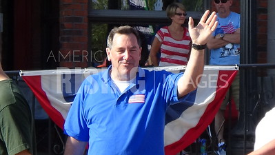 Joe Donnelly At Limestone Festival In Bedford, IN