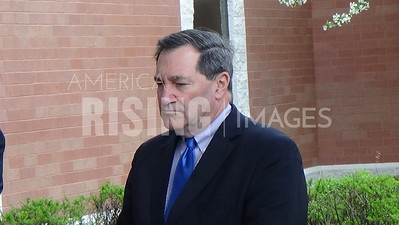 Joe Donnelly At EPA Administrator Visit Press Conference At Carrie Gosch Elementary School In East Chicago, IN