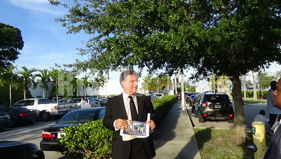 Joe Garcia At The Miami Times Political Forum At The Little Haiti Cultural Center In Miami, FL