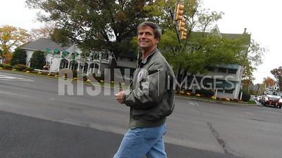Joe Sestak At Walk From Doylestown To Norristown, PA