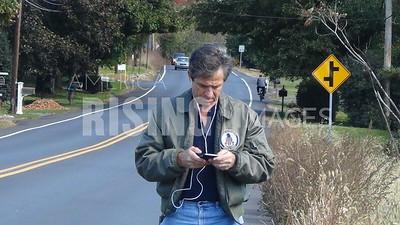 Joe Sestak Walks From Easton To Allentown, PA