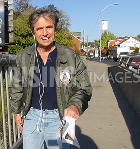 Joe Sestak Walks From Easton To Allentown, PA