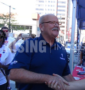 John Gregg At Indy Laborfest On Georgia Street In Indianapolis, IN