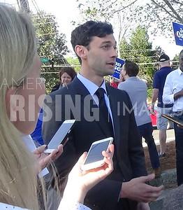 Jon Ossoff At Dunwoody Early Vote Rally In Atlanta, GA
