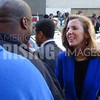 Katie McGinty At Fight For $15 Rally In Philadelphia, PA