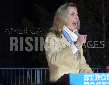 Katie McGinty At Hillary Clinton Campaign Rally In Philadelphia, PA