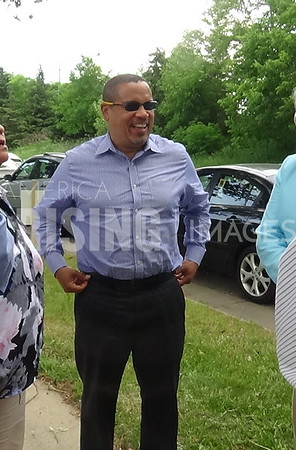 Keith Ellison At Groundbreaking Ceremony In Minneapolis, MN