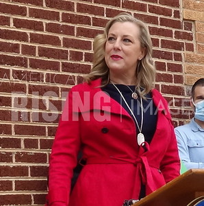 Kendra Horn Press Conference In Oklahoma City