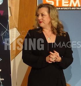 Kendra Horn at STEM Expo in Oklahoma City, OK