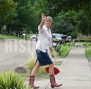 Kim Olson At Fundraiser In Carrolton, TX
