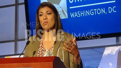 Lucy Flores Keynotes GWU Latino Celebration In Washington, DC