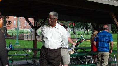 Lynn Coleman At Meet And Greet At Wabash City Park In Wabash, IN