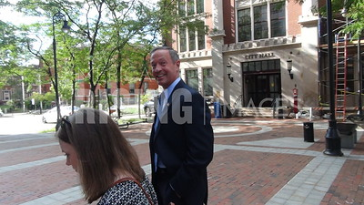 Martin O'Malley At Town Hall In Manchester, NH