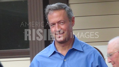 Martin O'Malley At House Party In Ogden, IA