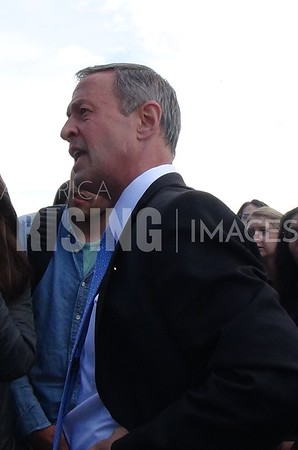 Martin O'Malley At Rally On Gun Safety In Boulder, CO