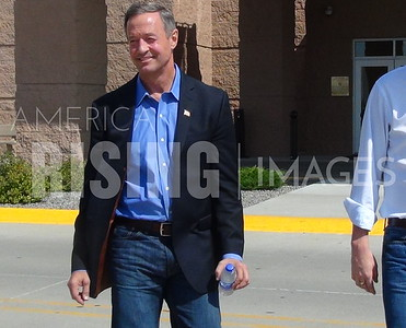Martin O'Malley At AFSCME Town Hall In Altoona, IA