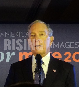 Mike Bloomberg at Rally in McLean, VA