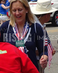 Nancy Rotering At Fourth Of July Parade In Deerfield, IL