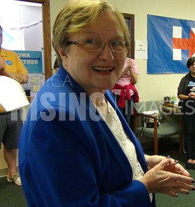 Patty Judge At Canvassing Event In Des Moines, IA