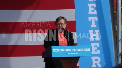 Patty Judge At Hillary Clinton Campaign Early Vote Event In Cedar Rapids, IA