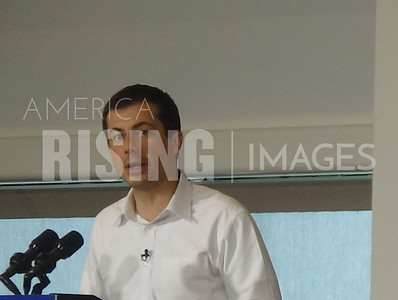 Pete Buttigieg Attends Campaign Rally In Ankeny, IA