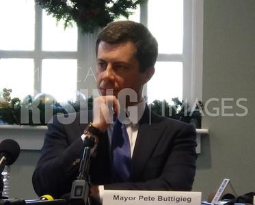 Mayor Pete round table at the Redmont Hotel in Birmingham, AL