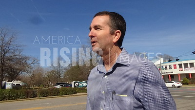 Ralph Northam At Campaign Meet And Greet At Croc's In Virginia Beach, VA