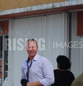 Randy Perkins At His Fort Pierce Campaign Office Opening In Fort Pierce, FL