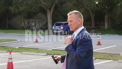 Randy Perkins At District 18 Congressional Debate At Eissey Campus Theatre In Palm Beach Gardens, FL