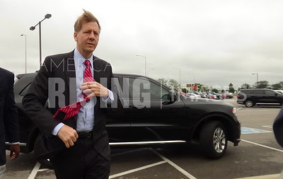 Richard Cordray At Dayton Chamber Of Commerce Town Hall In Dayton, OH