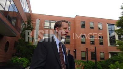 Richard Cordray At Unveiling Of Workforce Development Plan In Cincinnati, OH