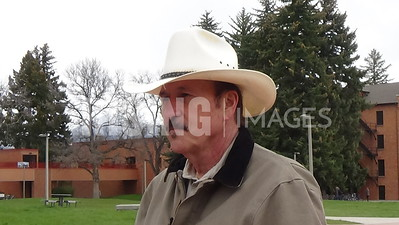 Rob Quist At Campaign Rally In Bozeman, MT