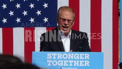 Ted Strickland At Hillary Clinton Campaign Rally With Tim Kaine In Springfield, OH