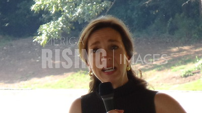 Teresa Tomlinson At Ice Cream Social In Flowery Branch, GA