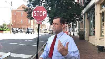 Tom Perriello Tours Small Businesses In Petersburg, VA