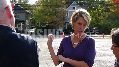 Zephyr Teachout At Coxsackie Harvest Fest In Coxsackie, NY