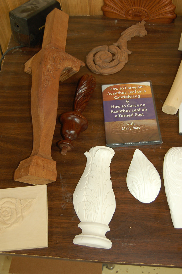 Carving on Turned Works w May 41