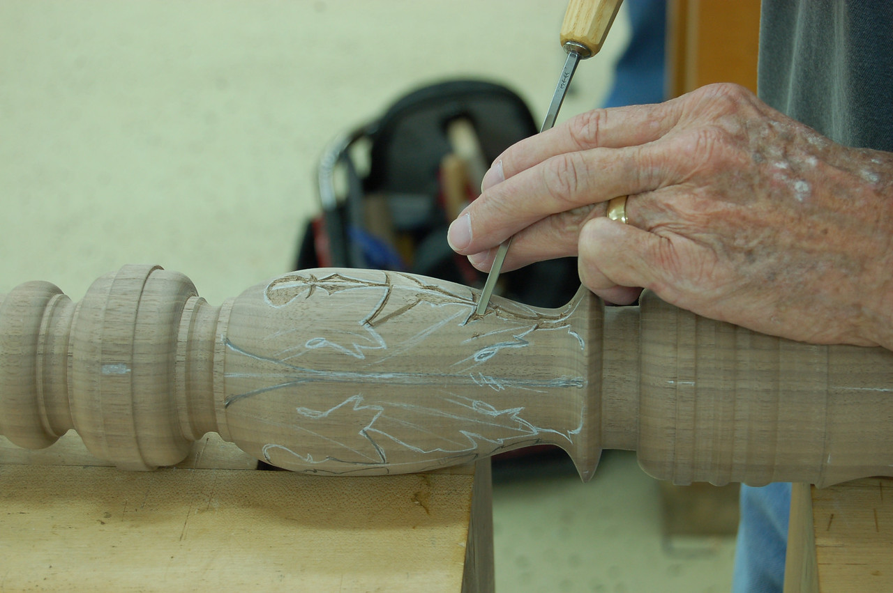 Carving on Turned Works w May 54