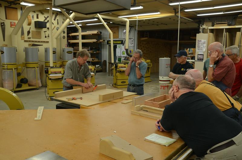 Hand & Machine Skills w Dale 14
